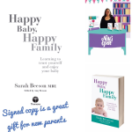 signed copies Happy Baby Happy Family