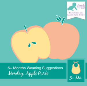 WeaningSuggestion_MealPlan_Monday_ApplePuree