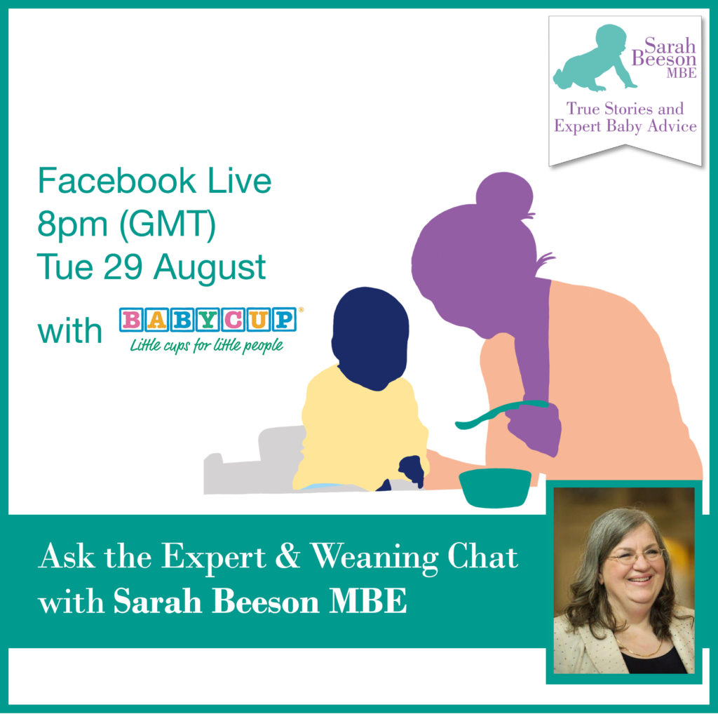 Weaning_FacebookLive28August_SquareAd